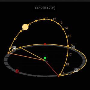 【使い方】サンサーベイヤー (Sun Surveyor)で太陽や月の位置を把握よう